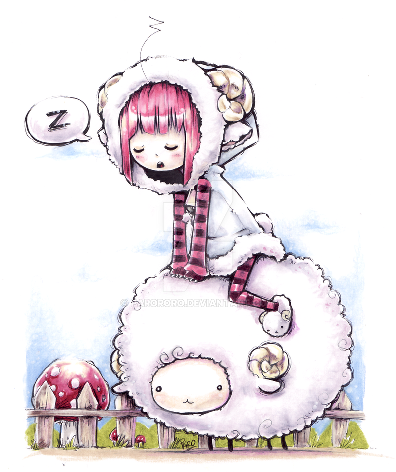 Sheep Ride by Parororo