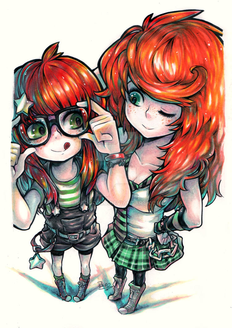 Sisters by Parororo