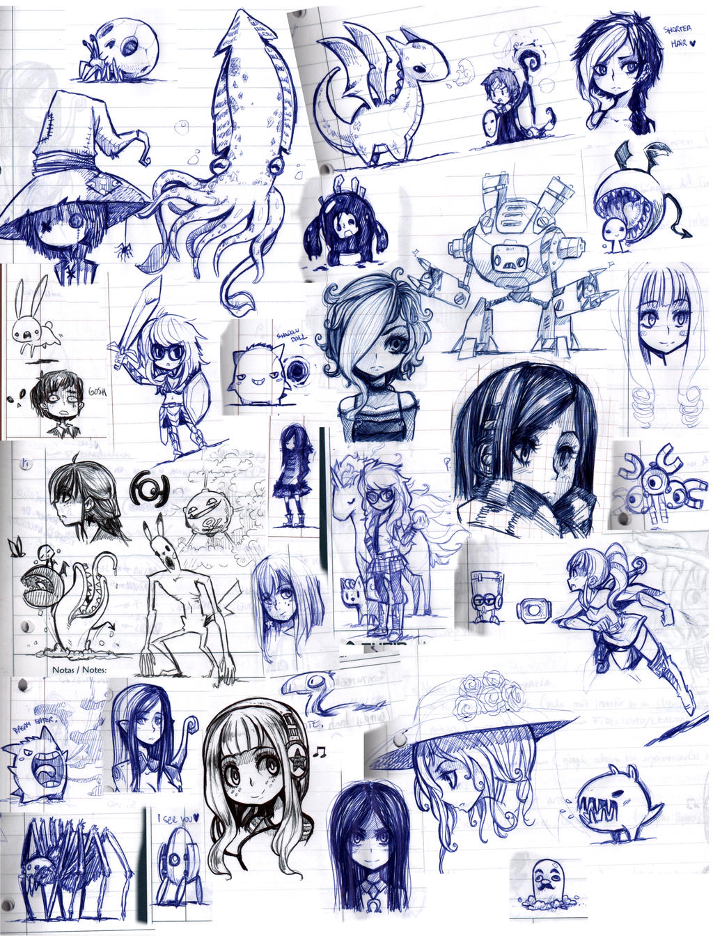 class sketches 2012-1 by Parororo