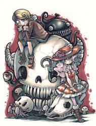Skulls by Parororo