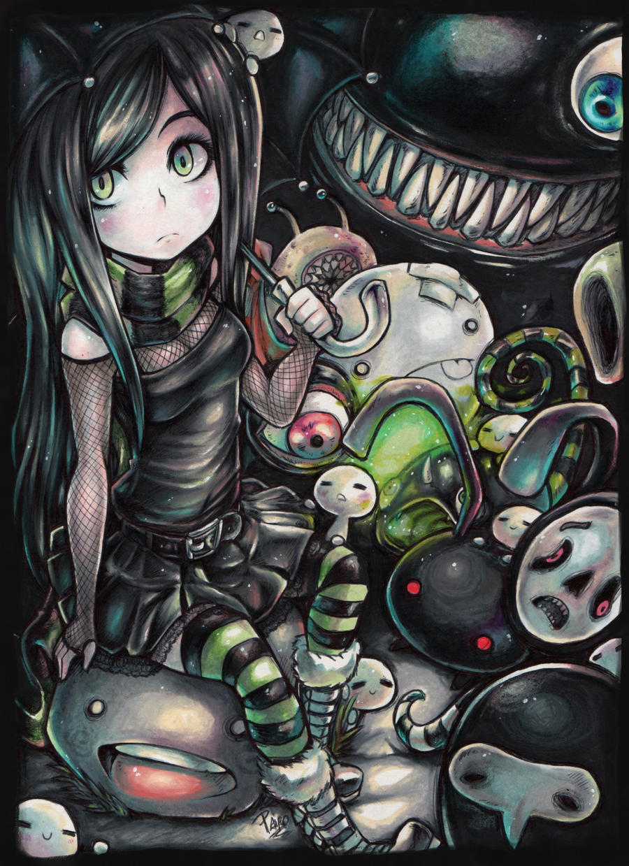 Aria and the little creatures