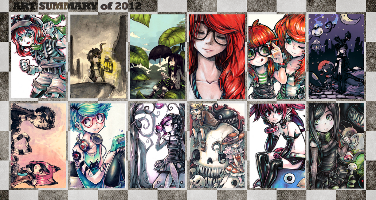 Art summary of 2012 by Parororo