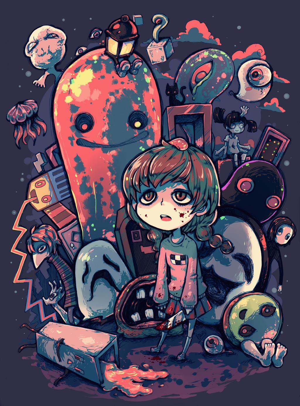 Yume Nikki by Parororo