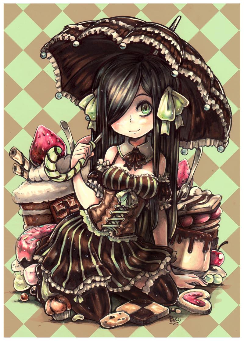 Chocolate and Mint by Parororo