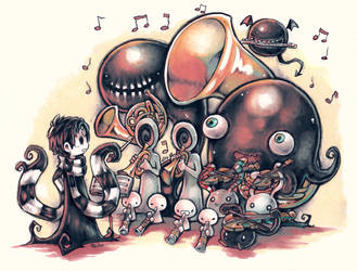 Monster Orchestra by Parororo