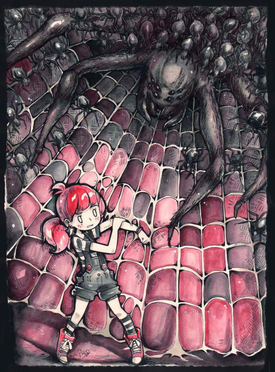 Spiders by Parororo