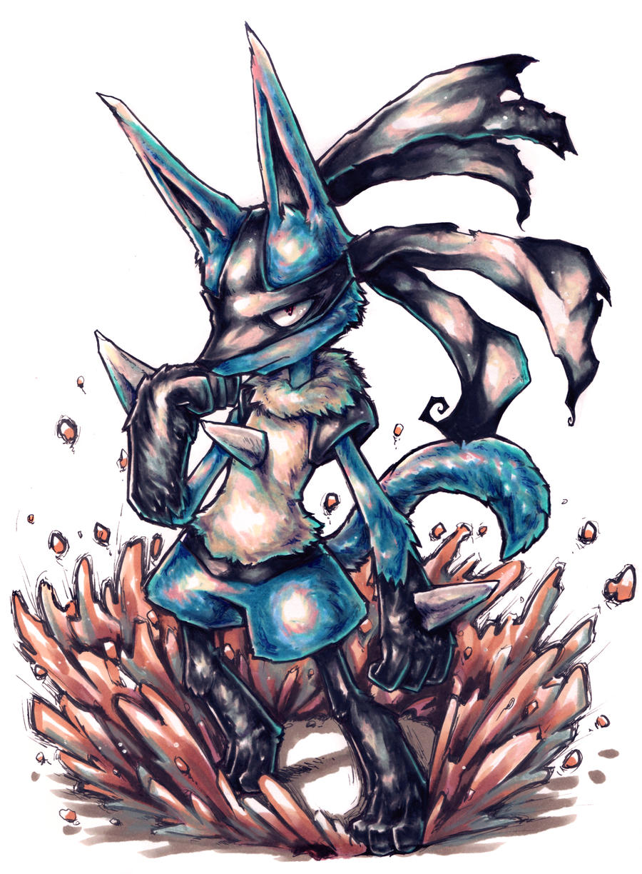Lucario used bulldoze! by Parororo