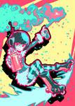 Jet Set Radio - Mew by Parororo
