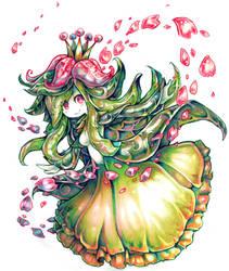 Lilligant used Petal Dance by Parororo