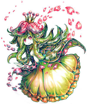 Lilligant used Petal Dance
