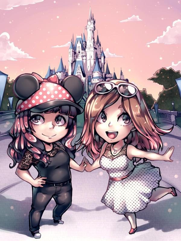 Disneyworld commish by Parororo