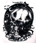 Last spooky day of Inktober