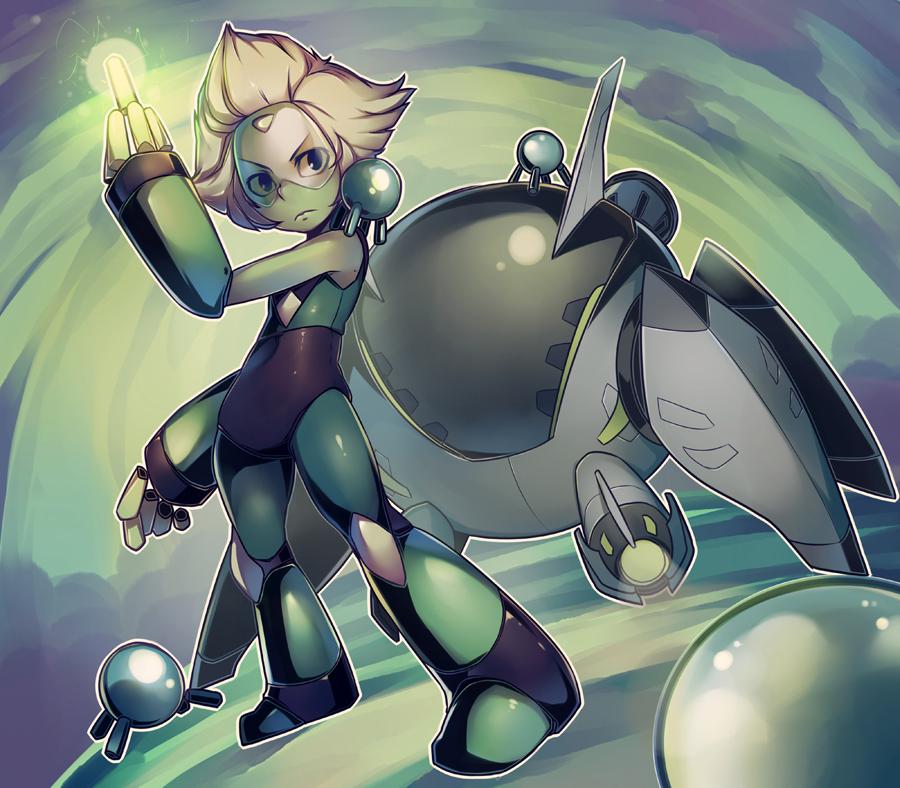 Peridot - Steven Universe by Parororo