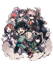 Boku no Hero Academia by Parororo