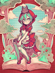 Little Red Riding Hood Miku by Parororo
