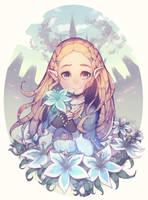 Zelda (TLoZ Breath of the Wild) by Parororo