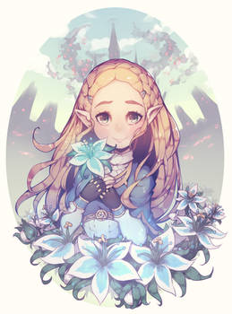 Zelda (TLoZ Breath of the Wild)