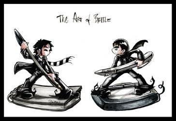 The Art of Battle by Parororo