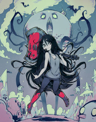 Marceline (Adventure Time) by Parororo