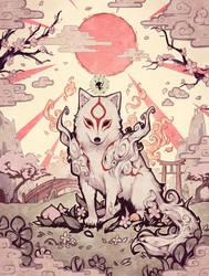 Amaterasu by Parororo