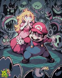 Mario Art Jam