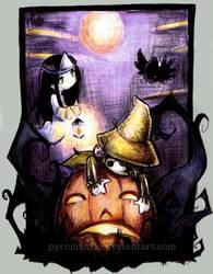 My Halloweenesque Contribution by Parororo