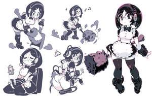 Robo-vacuum Girl