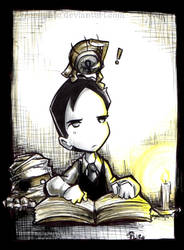 El joven Lovecraft by Parororo