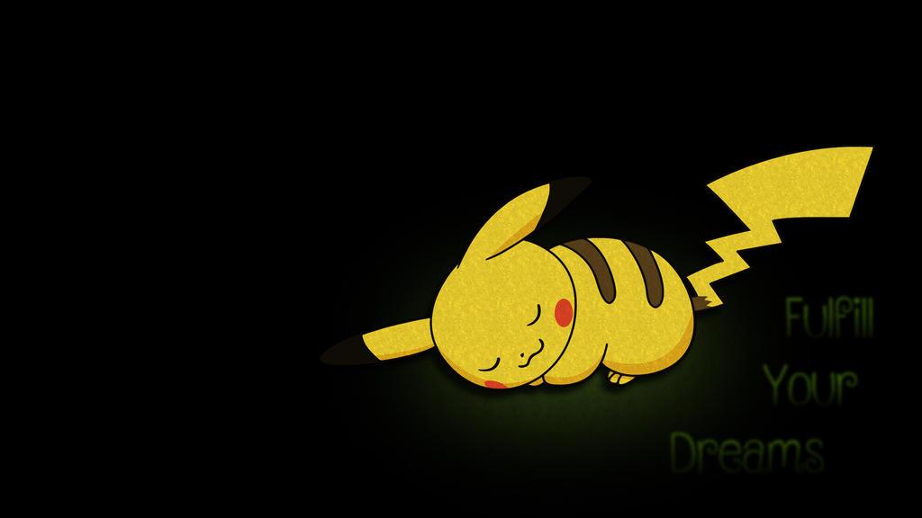 Pikachu - Fulfill your dreams by AvatarCJ-ACJ