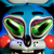 Messed up Toy Bonnie 2 emoticon