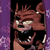 Messed up Foxy emoticon