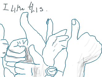 dual thumbs by fbLikePlz