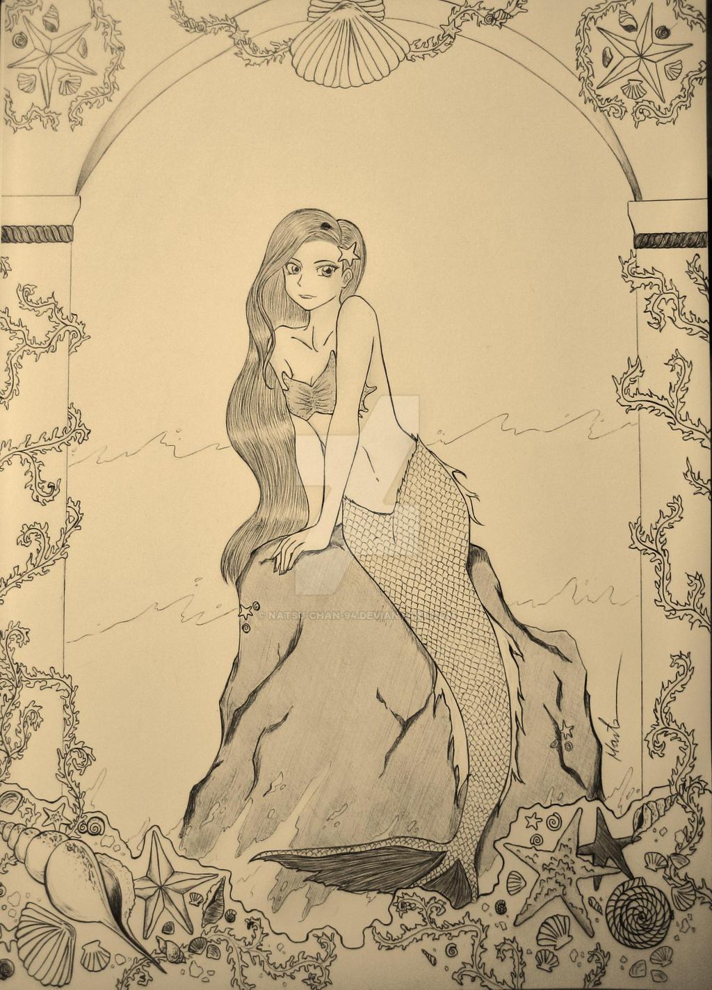 The Mermaid by Natsu-chan-94
