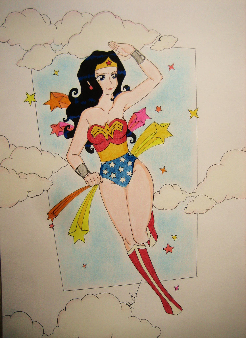 Wonder Woman by Natsu-chan-94