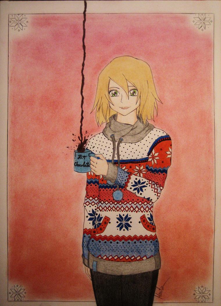 Winter sweater by Natsu-chan-94