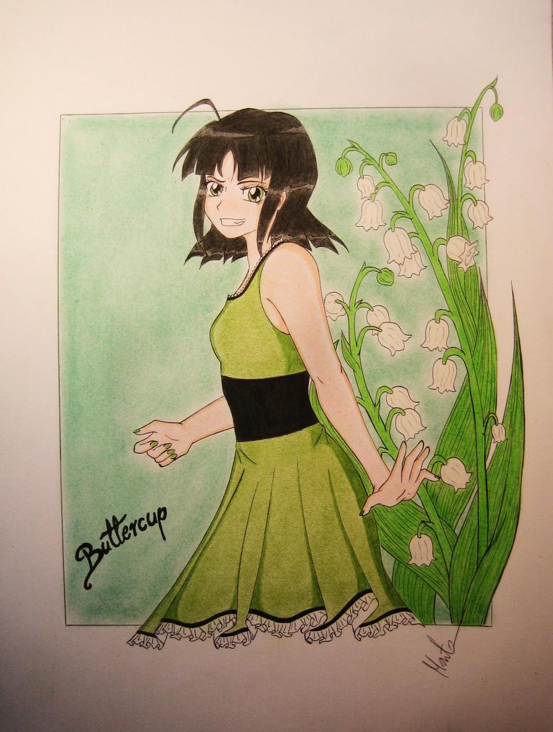 Buttercup (Powerpuff Girls) by Natsu-chan-94