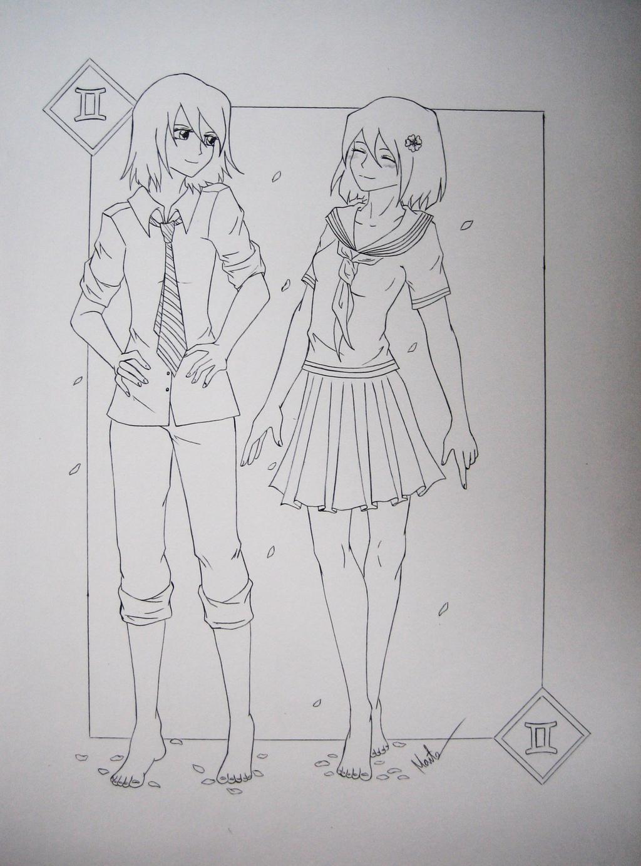 Gemini by Natsu-chan-94