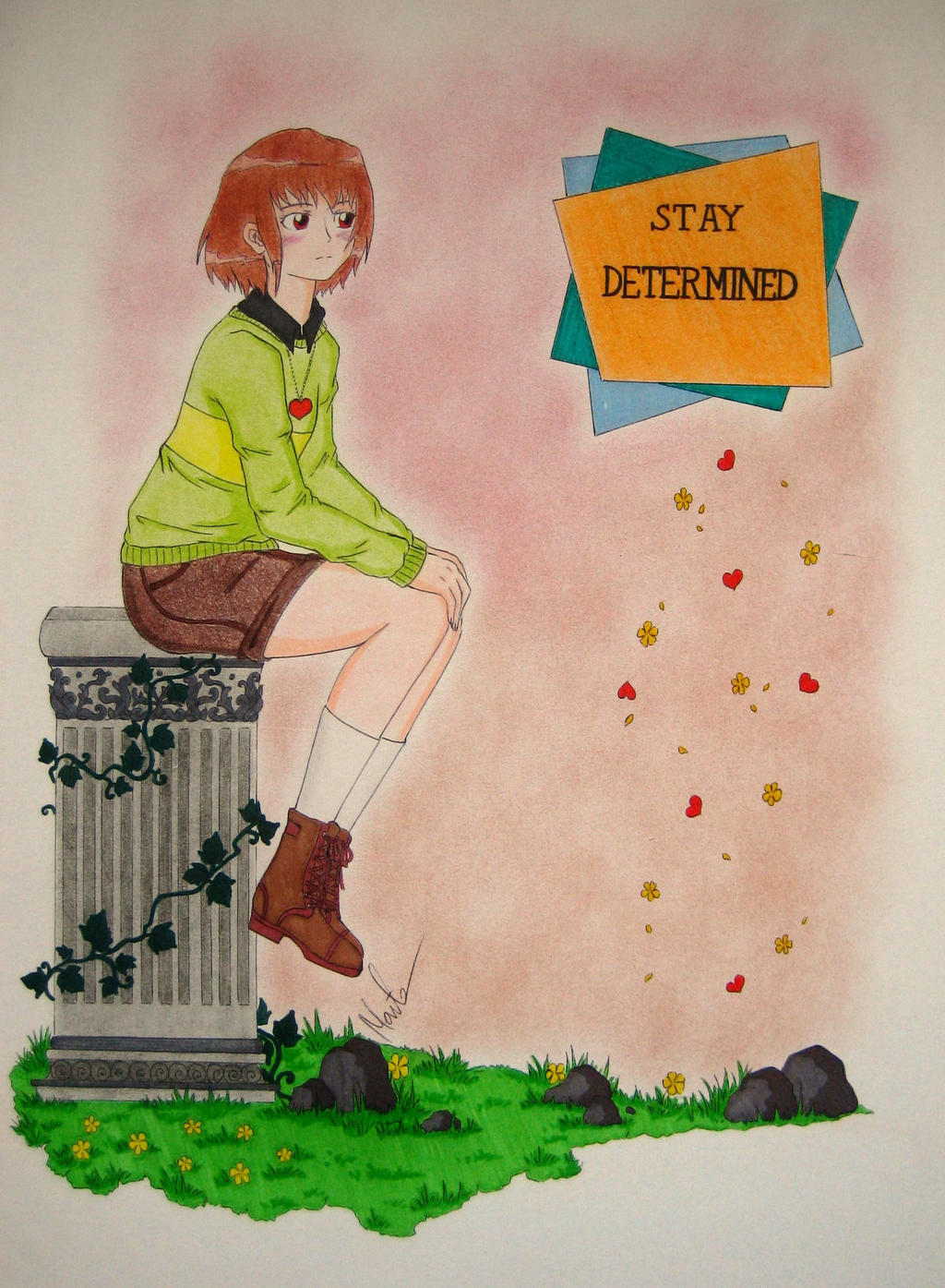 Stay Determined 2 by Natsu-chan-94