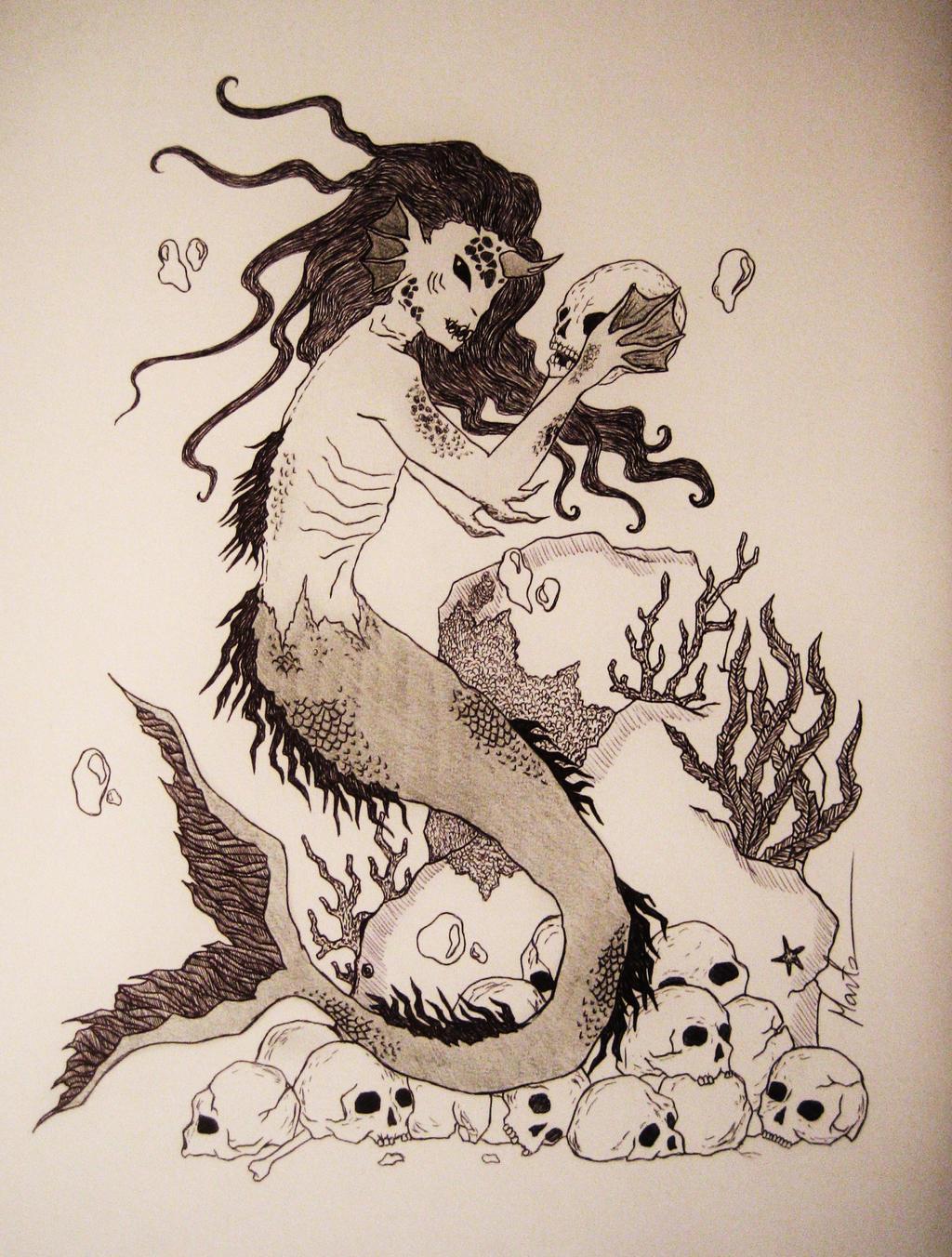 Sea Creature by Natsu-chan-94