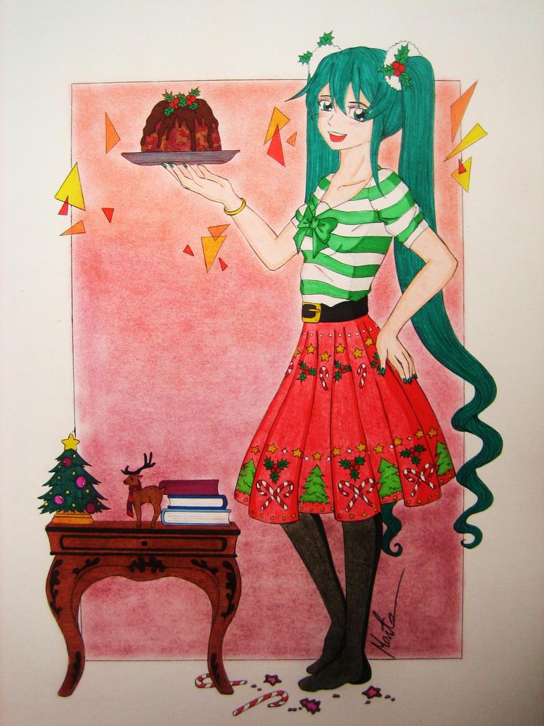 Merry Christmas! by Natsu-chan-94