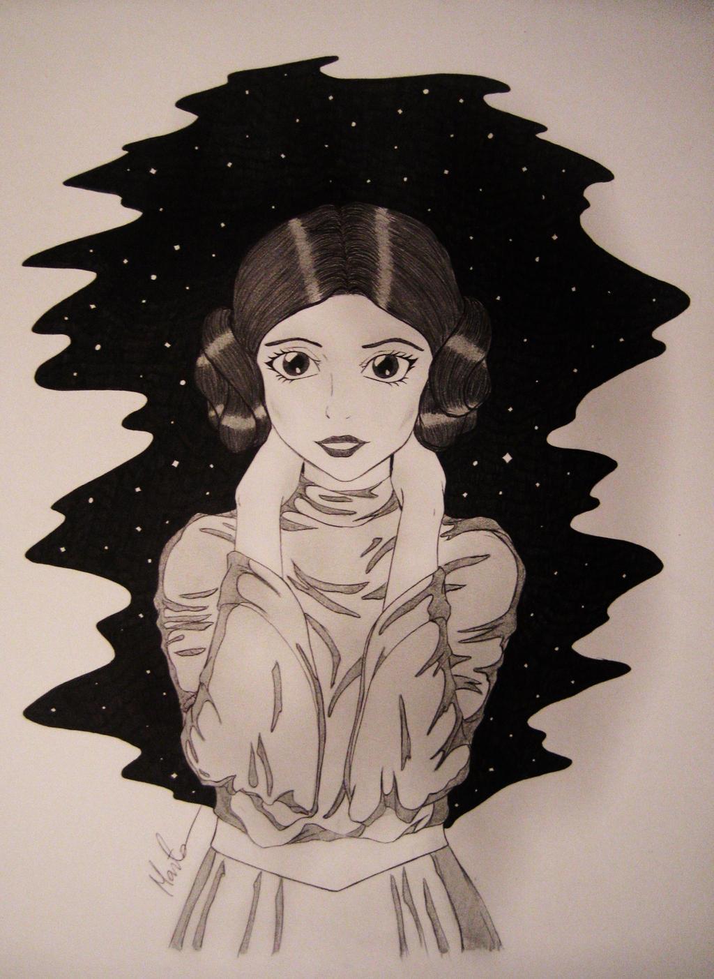 Princess Leia by Natsu-chan-94