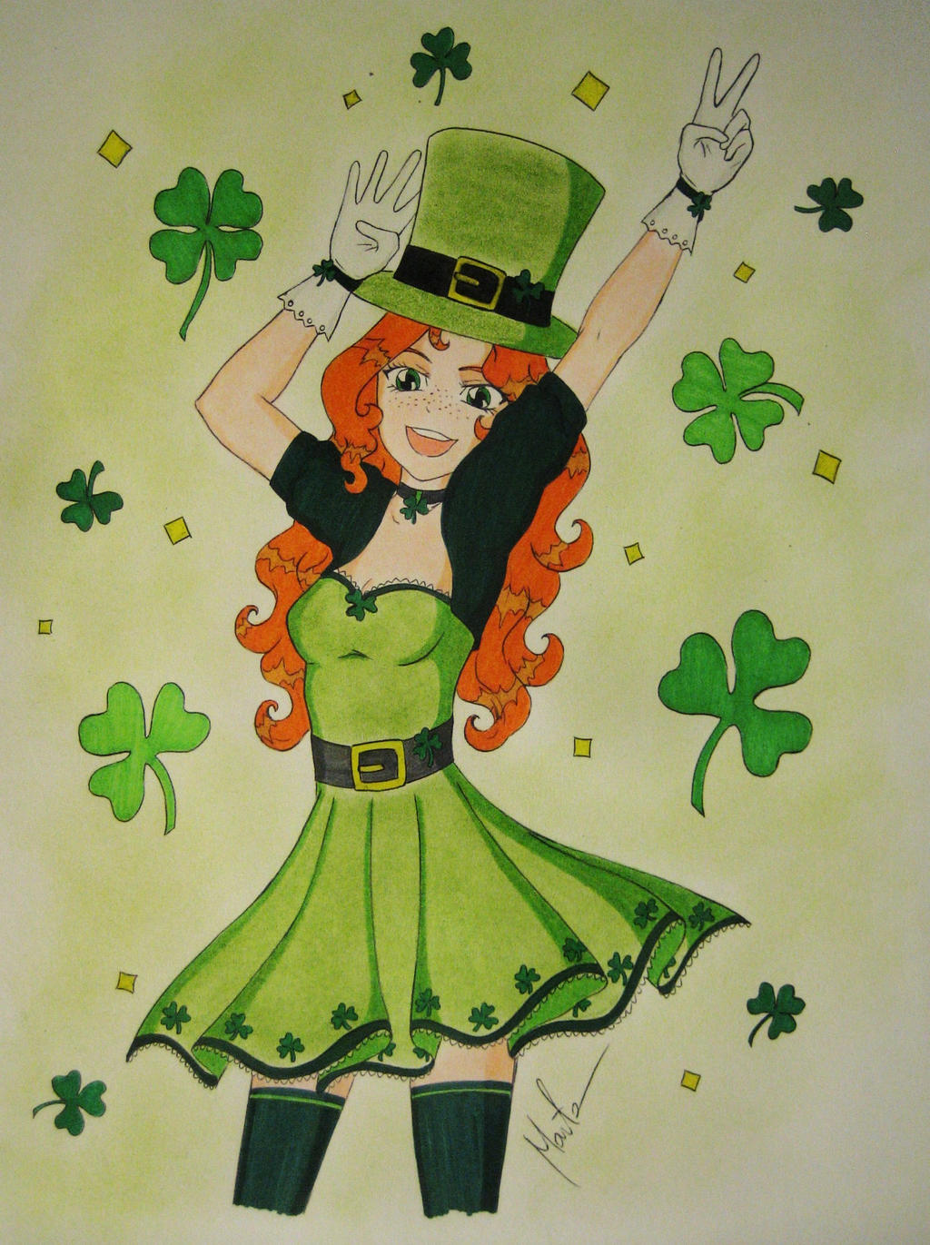 Happy St. Patrick's Day! by Natsu-chan-94