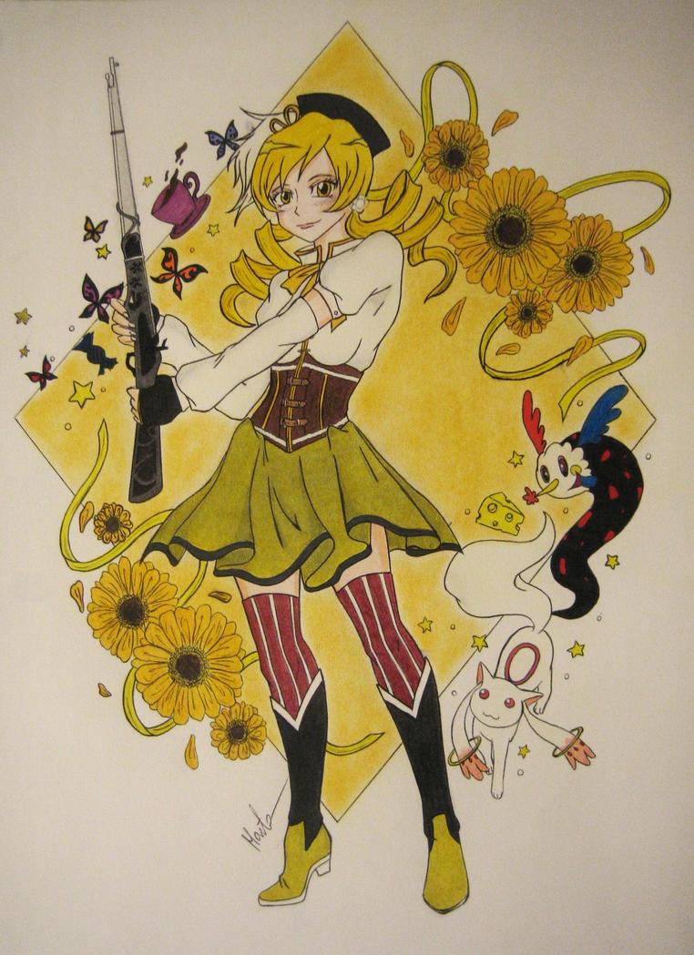 Tomoe Mami by Natsu-chan-94