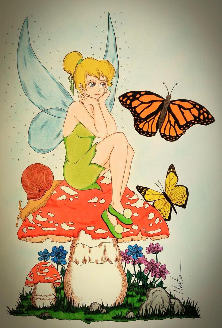 Tinker Bell by Natsu-chan-94
