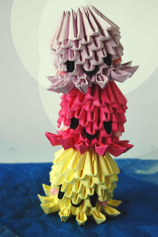 3d origami white swan by designermetin on deviantart 3d origami octopusesjellyfish by dounyatsu jeuxipadfo Gallery