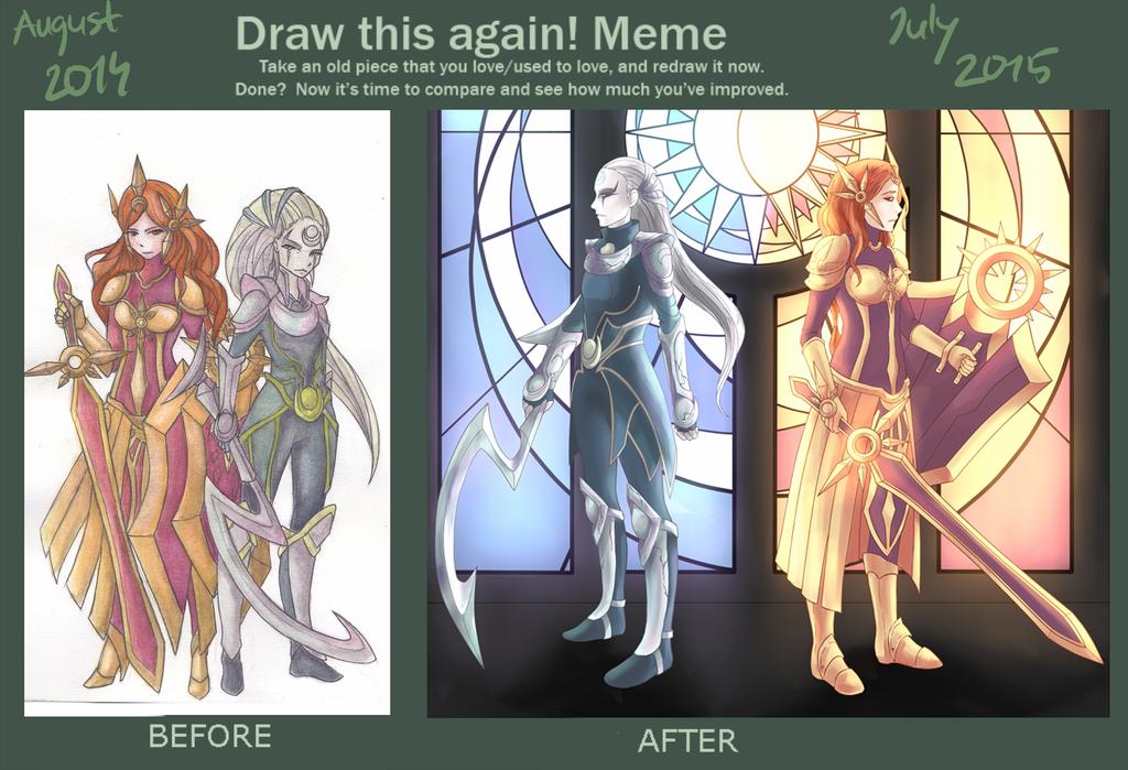 draw it again meme 2014/2015 by dounyatsu
