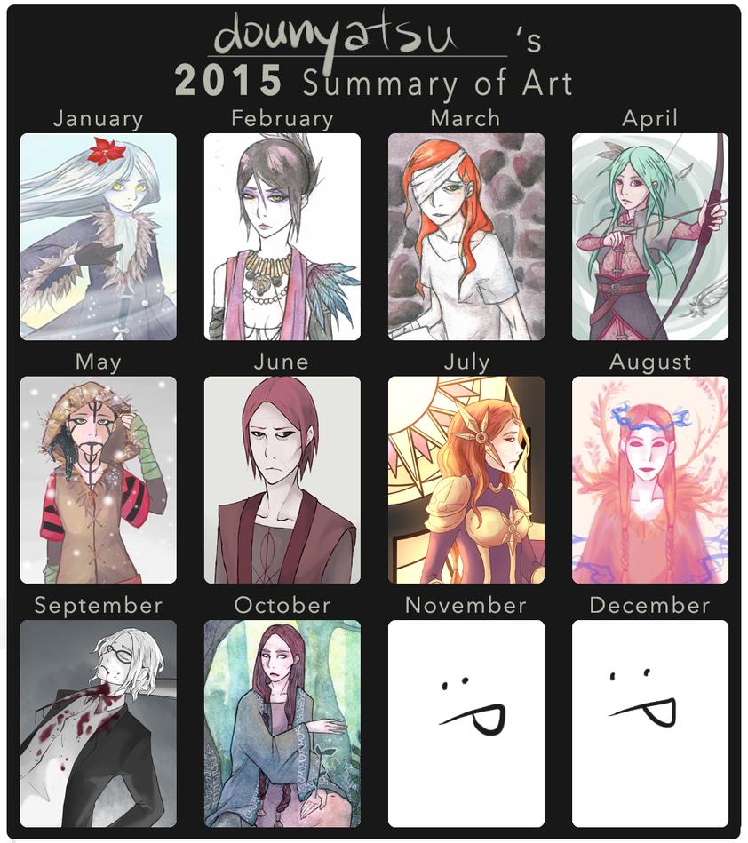 2k15 art summary by dounyatsu