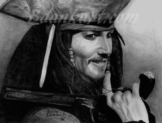 Captain Jack Sparrow by bdank