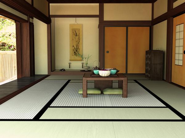 Japanese tatami by 11728 on deviantart - Japanese style living room ...