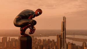 Avengers: Infinity War. (Iron Spider)